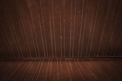 Wooden floor and wall Stock Photography