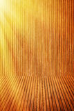 Wooden floor and wall royalty free stock photography