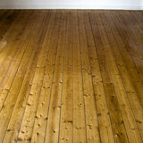 Wooden flooring. Architectural details of brown wooden flooring Royalty Free Stock Photo