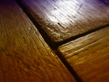 Wooden flooring. Patterned wooden flooring in high detail - graduated colors Royalty Free Stock Images