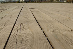 Wooden flooring, boards. Natural background Stock Image