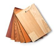 Wooden flooring laminate Royalty Free Stock Photos