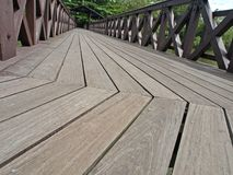 Wooden Flooring/Panel. A closeup of wooden planks Stock Photography