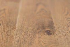 Wooden flooring parquet brown side view rustic floor. Beutifil Royalty Free Stock Image