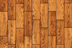Wooden flooring - vector background Stock Photo
