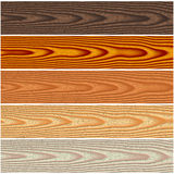 Wooden floorings set Royalty Free Stock Photo