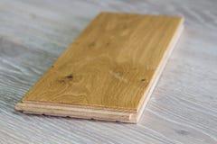 Wooden flor. Wood for floor, shiny floor, laminate floor Stock Photo
