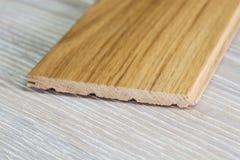Wooden flor. Wood for floor, shiny floor, laminate floor Stock Images