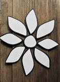 Wooden flower Stock Photos