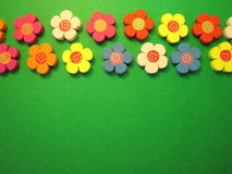 Wooden flowers Royalty Free Stock Photos