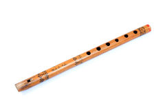 Wooden flute Royalty Free Stock Photos
