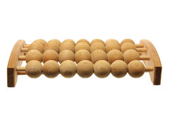 Wooden Foot Massager Royalty Free Stock Photos