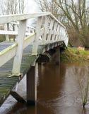 Wooden footbridge Stock Image