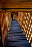 Wooden footbridge Royalty Free Stock Photos