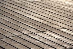 Wooden footbridge, small depth of field Stock Photo