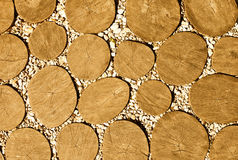 Wooden footpath Stock Photos
