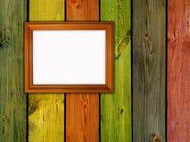 Wooden frame Stock Image