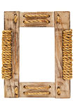 Wooden frame. Wooden frame for painting or picture Stock Photos