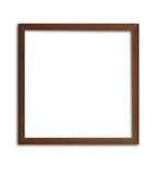 Wooden frame. Product of thailand Royalty Free Stock Images