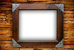 Wooden frame Royalty Free Stock Photos