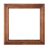 Wooden frame. Royalty Free Stock Image