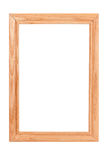 Wooden frame. Royalty Free Stock Images