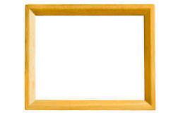 Wooden Frame. For inserting photos and so on Stock Photo