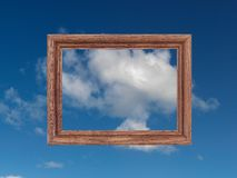 Wooden Frame Royalty Free Stock Photography