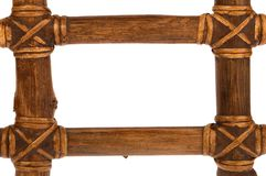 Wooden frame. A wooden frame for border Royalty Free Stock Image
