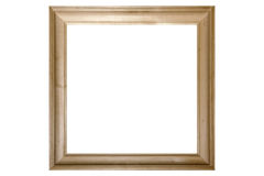Wooden frame. Picture of a wooden frame royalty free stock photo