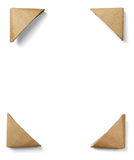 Wooden frame art decoration Stock Image