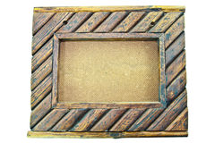Wooden frame background Royalty Free Stock Image