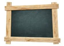 Wooden frame blackboard Stock Photography