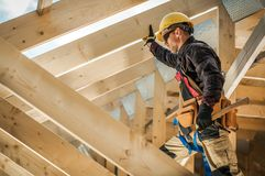 Free Wooden Frame Contractor Royalty Free Stock Photography - 161305977