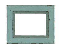 Wooden frame incl. clipping path Stock Images