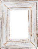 Wooden frame (Isolated inner) stock photos