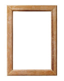 Wooden frame isolated Stock Photos