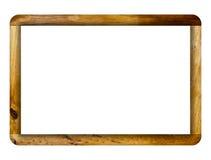 Wooden frame. Stock Photos