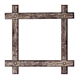 Wooden frame. Royalty Free Stock Photos