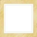 Wooden frame light Stock Photo