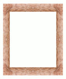 Wooden frame for love. Wooden frame for more important things to tell their loved ones. copy space Royalty Free Stock Photo