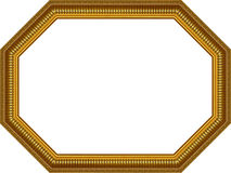Wooden frame,octagon Royalty Free Stock Photography