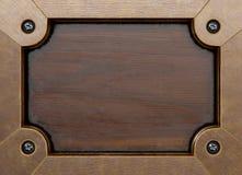 Wooden frame Stock Photos
