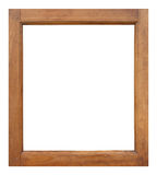 Wooden frame , old frame Royalty Free Stock Photo