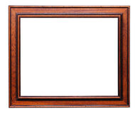 Wooden frame for painting Stock Photos