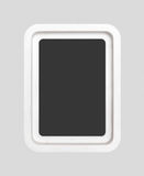 Wooden frame for painting Royalty Free Stock Image