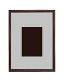 Wooden frame for painting Stock Image