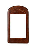 Wooden frame for painting Stock Images
