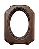 Wooden frame for painting Stock Photo