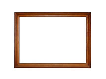 Wooden frame for painting Royalty Free Stock Photo